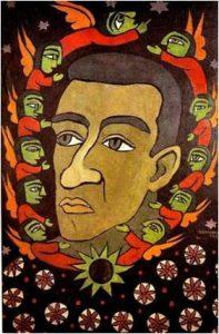 """Raimundo de Oliveira. """"Auto-retrato"""". 1964."""